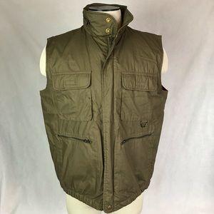 Eddie Bauer Brown puffer best jacket